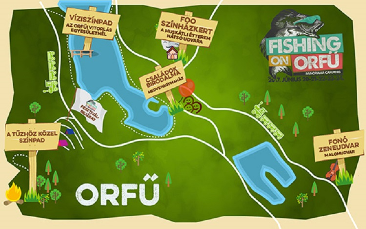 Fishing On Orfu Terkep Marlpoint