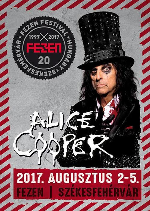 Fezen 2017 - Az első név: Alice Cooper