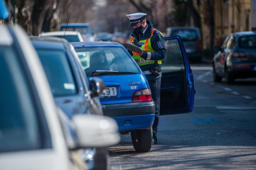 Közúti ellenőrzés, Budapest