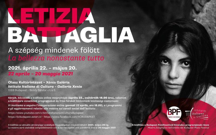 A szépség mindenekfölött - Letizia Battaglia fotókiállítása