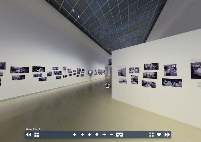 Műcsarnok kiállítás, virtuális séta