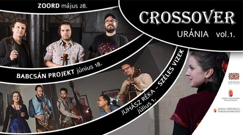 Crossover Uránia koncertsorozat