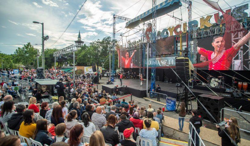 Cirkuszgála a Fővárosi Nagycirkusz újranyitása alkalmából