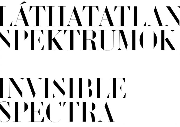 Láthatatlan spektrumok kiállítás