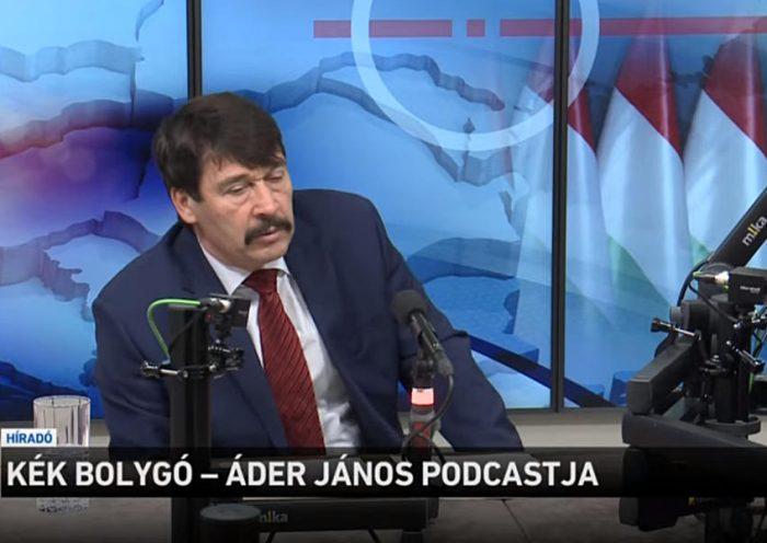 Máté Bence és Áder János podcast